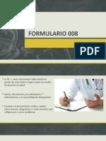 FORMULARIO 008
