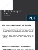 Lecture 4. Soil Strength