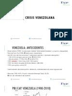 La Crisis en Venezuela