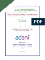 Surguja Power Report 135 MW