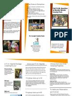 SJC F.U.N. Hayride Brochure