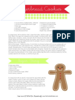 Gingerbread Men Recipe - Tomkat Studio