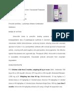 AMOXICILLIN CLAVULANATE POTASSIUM