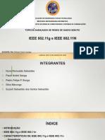 IEEE 802.11g e IEEE 802.11n