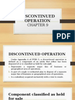 CHAPTER 9- Discontinued Operation