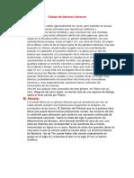 Trabajo de Géneros Literarios Latin