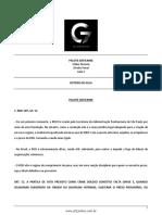 Roteiro de Aula - Pacote anticrime - Direito Penal - Cleber Masson - Aula 02