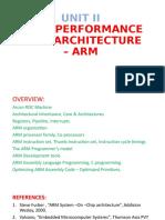 UNIT II ARM.pptx