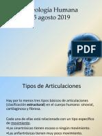 Osteología Humana Clase 15 AGOSTO
