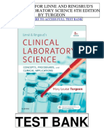Linne Ringsruds Clinical Laboratory Science 8th Turgeon Test Bank