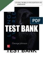 Living World 9th Johnson Test Bank