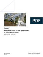 Desigo Application Guide for BACnet Networks in Building Automation