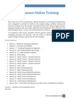 HL7 +Mirth Connect Training Course curriculum