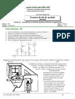 Examen de Fin de Module Installation Et Entretien Systemes Dalarme Et Signalisation Temi
