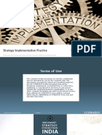 UC STRATEGY - Strategy Implementation Practice Credentials