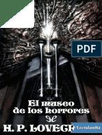 El museo de los horrores - H P Lovecraft.pdf