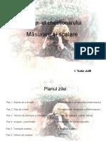 5.2. Chestionarul - Scalare si Masurare