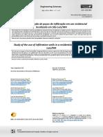 Estudo da utilização de poços de infiltração em um residencial localizado em São Luís-MA