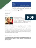 65. Entrevista - Sofia Vale, professora da Faculdade de Direito da Universidade Agostinho