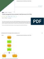 Credit management (Documented Credit Decision) (S_4 1709) _ SAP Blogs