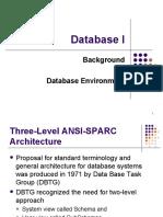 Week02 - Database Environment