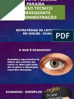 Scanning - II - IFPB