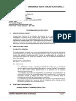 PROGRAMA FUNDAMENTOS TEÓRICOS CCEE 2020