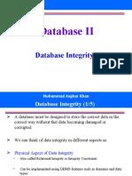 Week11 - DB Integrity