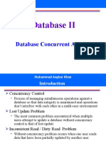 Week13 - DB Concurrent Access
