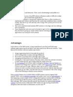 Advantages Disadvantages of ERP