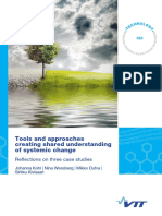 Tools and approaches creating shared understanding of systemic change. finlandia.pdf