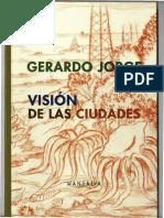 Visión de las ciudades, Gerardo Jorge