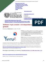 Software Yvytu versión 1.0.0disponible para la descarga gratuita _ Facultad de Ingeniería