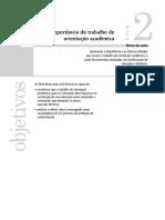 Aula 02- A importância do trabalho de orientação acadêmica