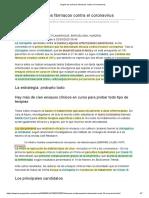 Llegan los primeros fármacos contra el coronavirus_cloroquina