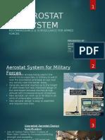 AEROSTAT SYSTEM by Umakant