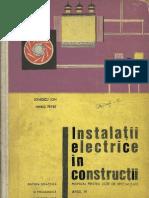 Instalatii Electrice in Constructii
