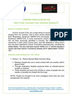 Corona Virus (Covid19) Solution - Increase Immune System.pdf