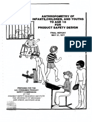 Child Anthropometry Data Anthropometry Statistics