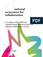 Organisational structures for collaboration