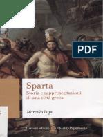 Lupi, Marcello. - Sparta. Storia e Rappresentazioni Di Una Città Greca [2017]