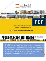 I Presentacion del Programa Ramo