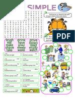past-simple-regular-irregular-verbs-grammar-drills-information-gap-activities-wordsear_86432