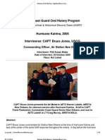 U.S. Coast Guard Oral History Program - Captain Bruce Jones