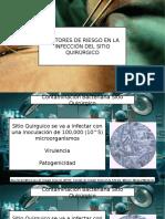 FACTORES RIESGO PATOLOGIA QUIRURGICA