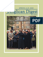 The Anglican Digest - Spring 2020