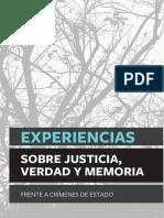 Cmdpdh Justicia Transicional Experiencias Justicia Verdad y Memoria