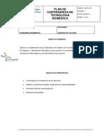 PLANDECONTINGENCIADETECNOLOGÍA BIOMÉDICA