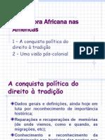 A Diáspora Africana nas Américas