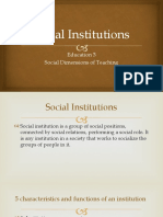 Social Institutions.pptx